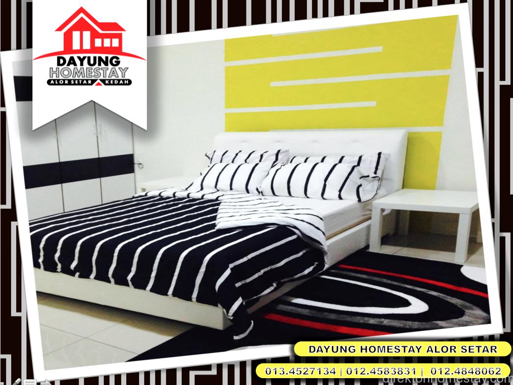 Dayung-Homestay-Alor-Setar-Kedah-JalanKualaKedah-MasterBedroom