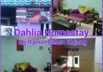 Dahlia Homestay Sg Ramal Dalam - Selesa dgn Empat bilik tidur